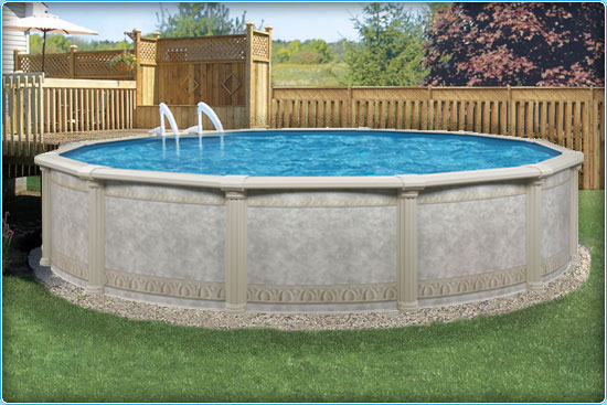 Sunshine Pool Company : New Pools : Above-Ground Pools : Dynasty