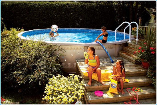 ag trevi 106 large Above Ground Pools Massachusetts