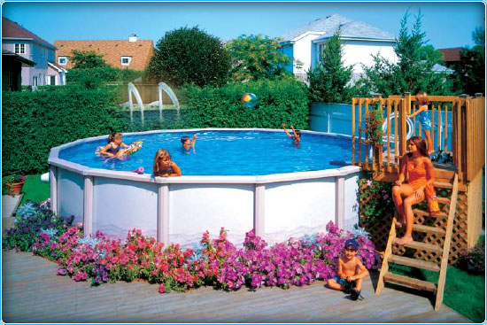 Sunshine Pool Company New Pools Above Ground Pools