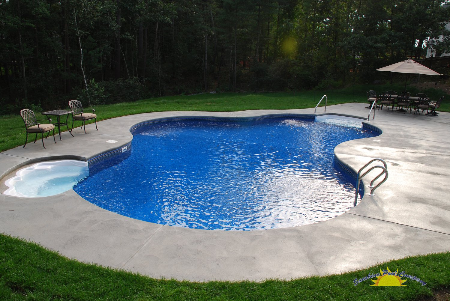 Sunshine pool company new pools in ground for Pool companies