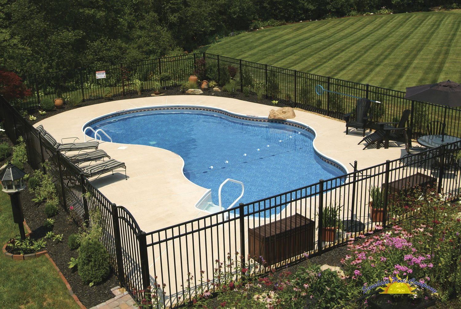 100 swimming pool companies custom inground for Inground pool companies
