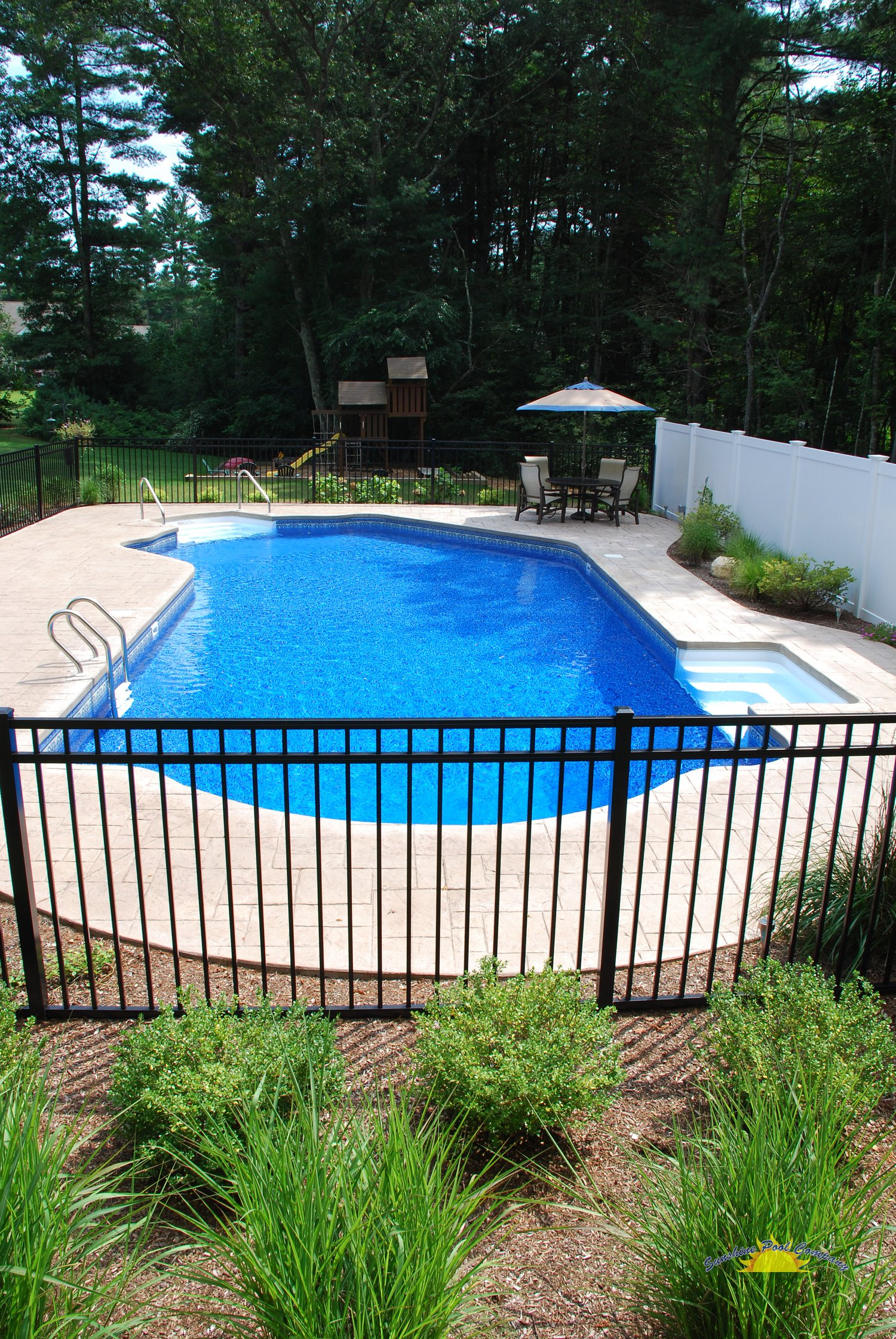 Sunshine pool company new pools in ground for Inground pool companies